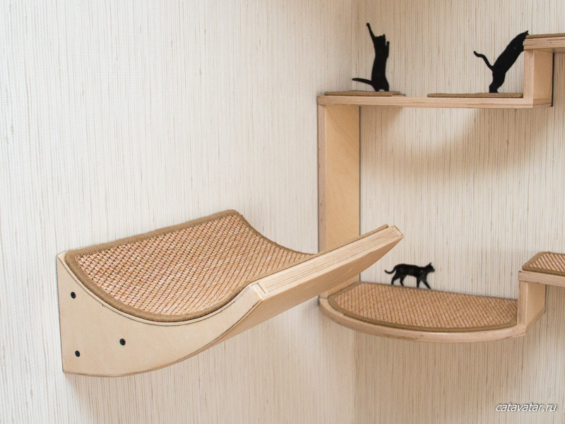 Furniture for cats.